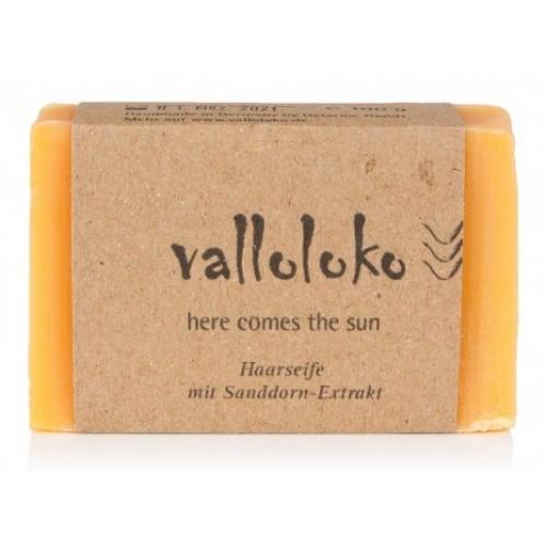 Unpacked Shampoo Bar Here comes the Sun   Valloloko
