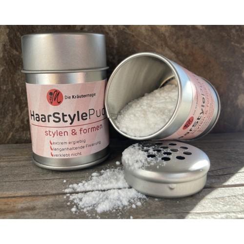 Natural Hair Styling Powder » Kraeutermagie