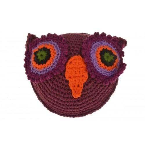 OWL Dog toy crocheted Oeko Tex100 | Unique Dog