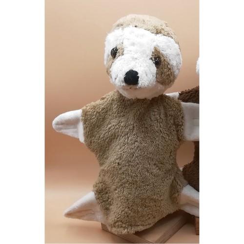 Kallisto Hand Puppet Sloth - Eco Cuddly Toy