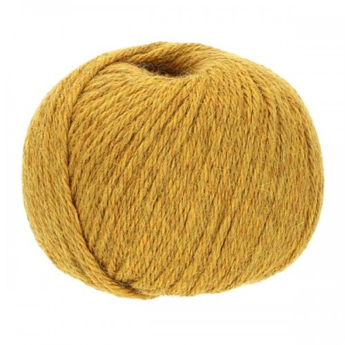 Baby Alpaca-Soft knit crochet yarn, 50g Mustard Yellow | Apu Kuntur
