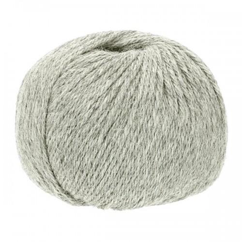 Baby Alpaca-Soft knit crochet yarn, 50g Silver Grey | Apu Kuntur