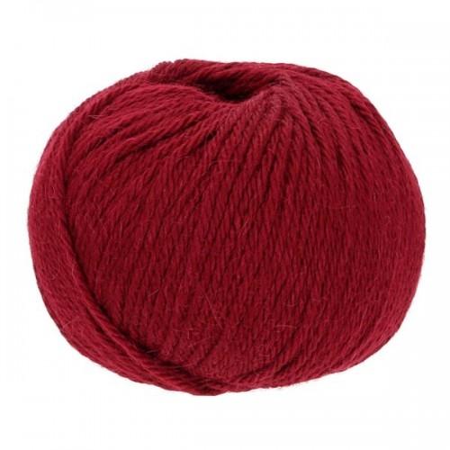 Baby Alpaca-Soft knit crochet yarn, 50g Ruby | Apu Kuntur