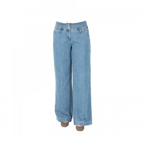 bloomers Boot crop Jeans, light blue, Organic Cotton & Linen