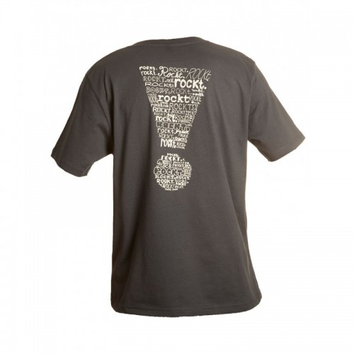 Herren T-Shirt mit Print rockt Bio-Baumwolle