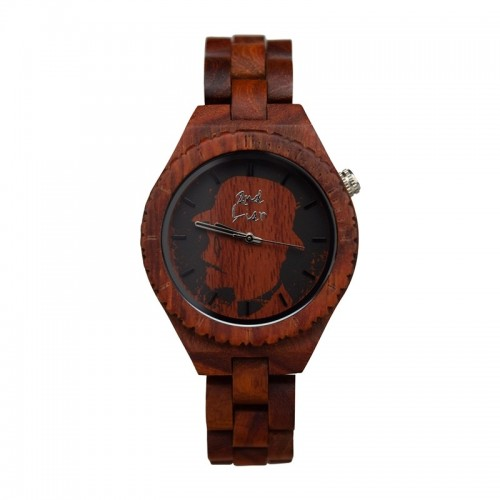 RED Women Wrist Watch of red Sandalwood