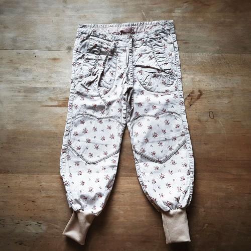 Grils trousers Walnut - plantal overdyed organic cotton | Ulalue