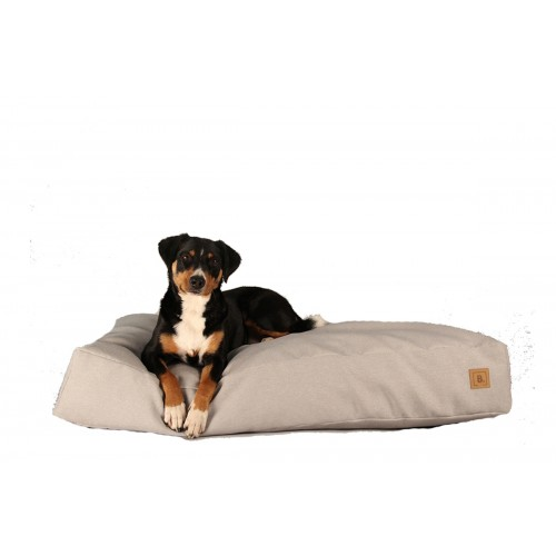 BUDDY Dog Bed light grey, sustainable bed for dogs | naftie