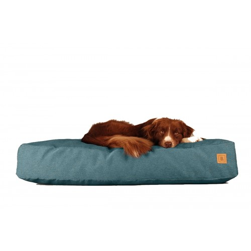 BUDDY Dog Bed petrol blue, sustainable bed for dogs | naftie