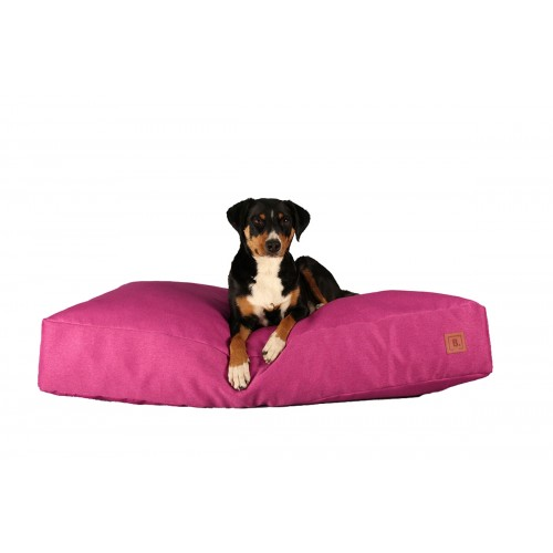 BUDDY Dog Bed pink, sustainable bed for dogs | naftie