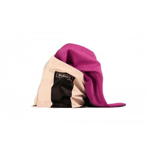 BUDDY Dog Bag Pink, Dog Blanket & Backpack for on the go