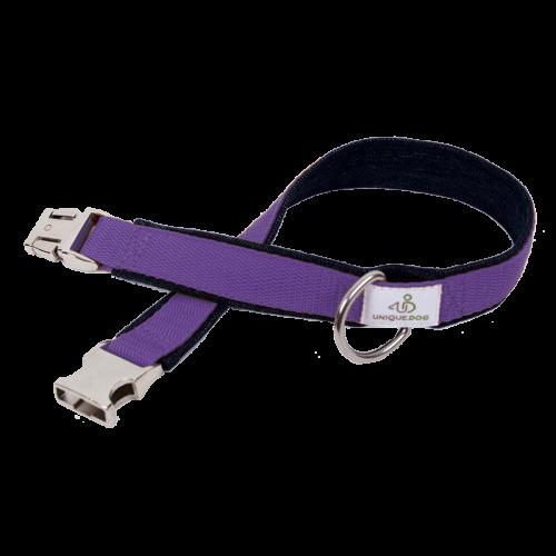 Hundehalsband Bio-Jeans & Gurtband 3,5cm Unique Dog