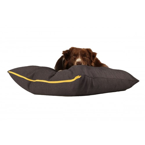 BUDDY Dog Pillow brown/grey, sustainable resting place for dogs