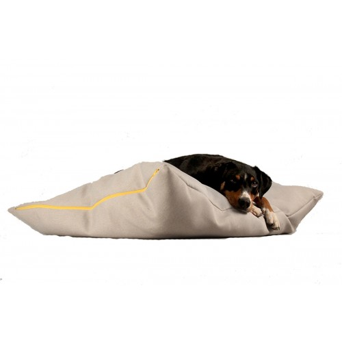 BUDDY Dog Pillow light grey, sustainable resting place for dogs