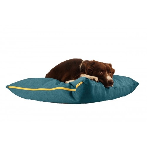 BUDDY Dog Pillow petrol blue, sustainable resting place for dogs
