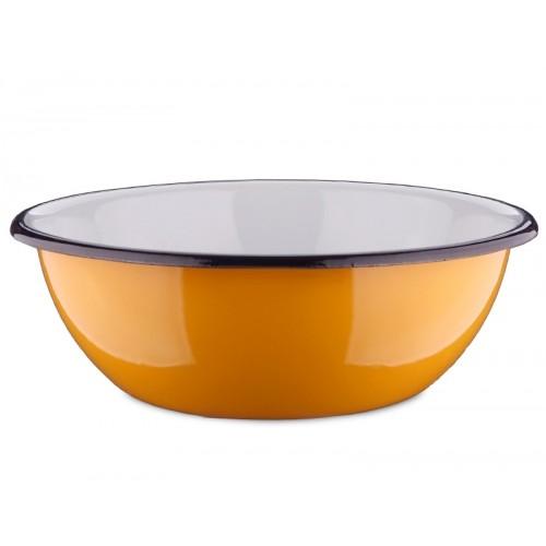 Nostalgic enamel dog dish, various sizes, orange | Unique Dog