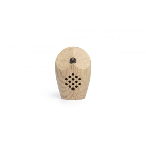 HUURI Owl - Motion Detector Swiss Oak Wood