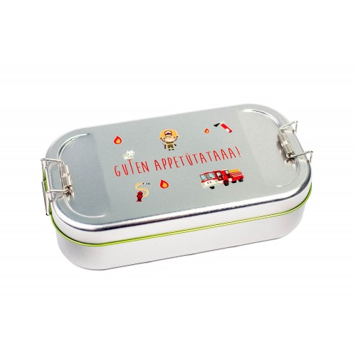 Cameleon Pack Tinplate Lunchbox fire department | doseplus