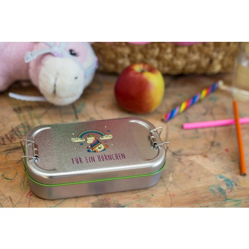 Cameleon Pack Tinplate Lunchbox Unicorn | doseplus