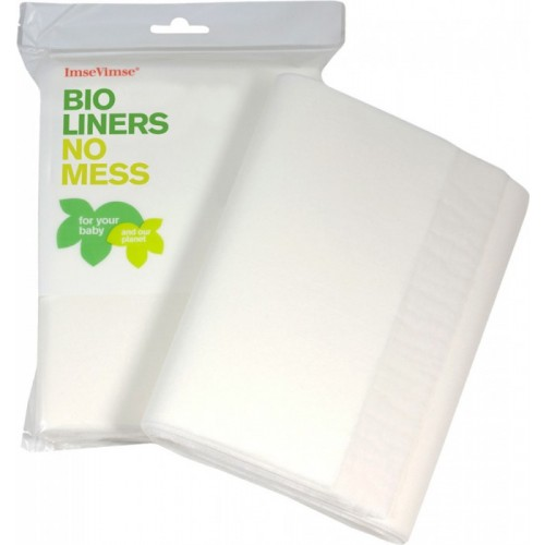 Eco Paper Liners Baby 200 sheet/pack | ImseVimse