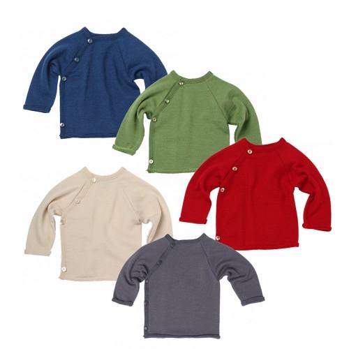 JaPu Sweater Terrycloth Organic Wool/Silk | Reiff