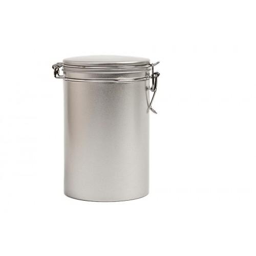 Round Storage Container & Coffee Caddy 500, tinplate   Tindobo