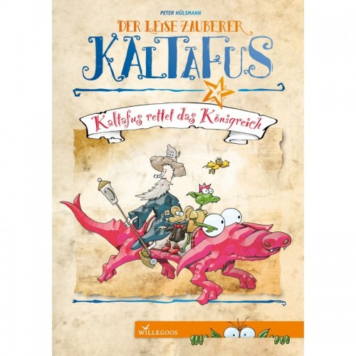 Kaltafus saves the kingdom - read aloud book | Willegoos