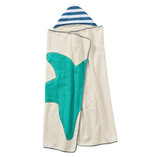 Organic Cotton Hooded Bath Towel XXL Starfish | early fish