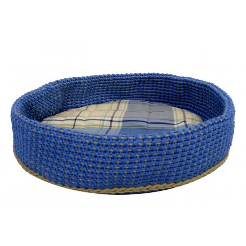 Crocheted cat bed basket EU eco & handmade   Unique Dog