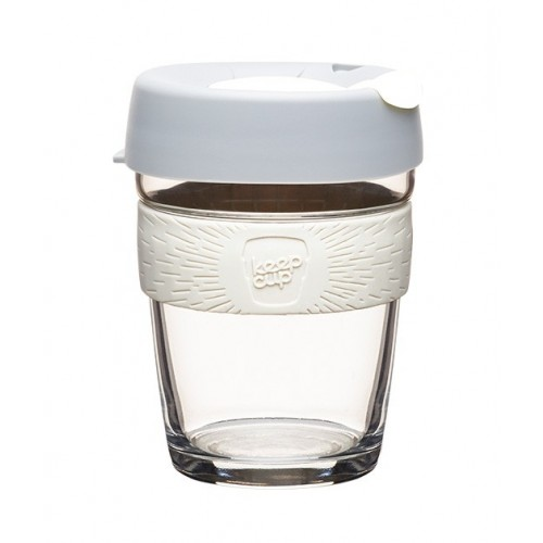 KeepCup Brew Cino - reusable cup made of Glass for Coffee etc.