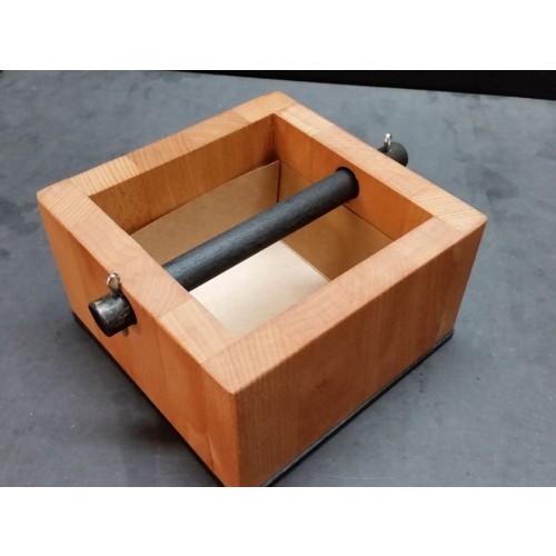 Sustainable Beechwood Knock Box Espresso » D.O.M.