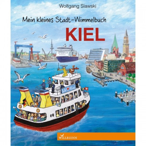 "Discover ""Sailing City"" Kiel - Children's Picture Book 