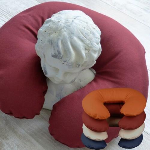 Organic Cushion Cover for speltex Neck Cushion U-shaped