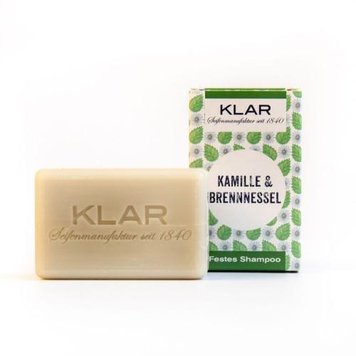 Solid Shampoo Chamomile & Nettle   Klar Soap