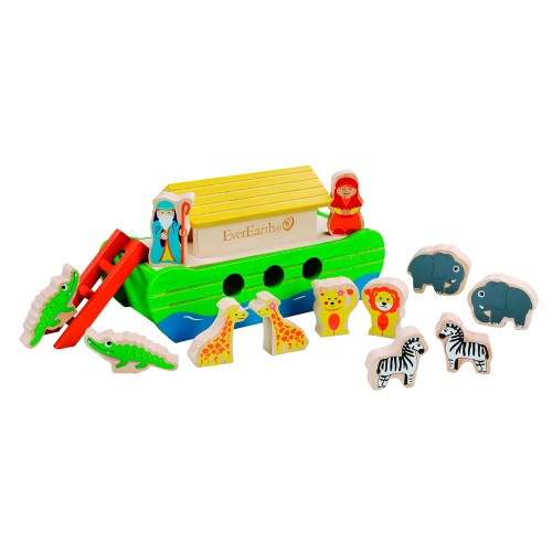 "EverEarth Eco wooden toy ""Little Noah's ark"""