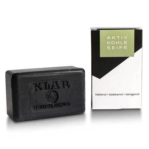 Activated Charcoal Soap - vegan & palm oil free   Klar Soap