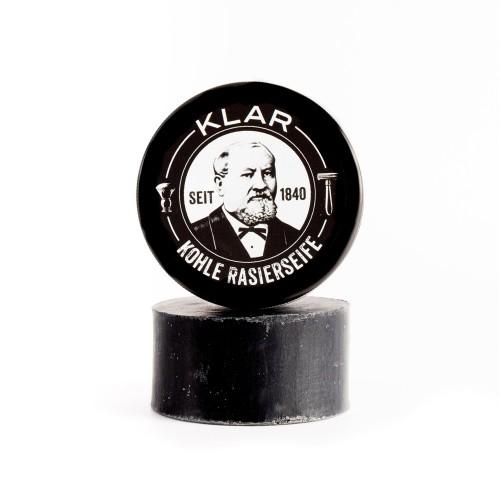 Activated Charcoal Shaving Soap - vegan & no palm oil | Klar Soap