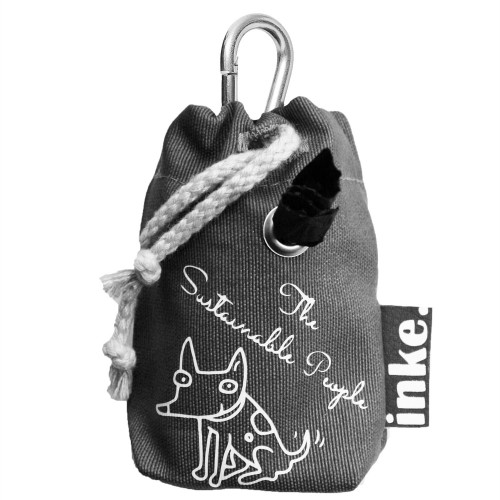 TSP inke. Poop Bag Dispenser incl. 15 organic dog waste bags