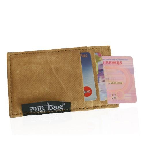 Upcycling Kreditkartenetui Tami Nadu aus Teesack | rag-bag