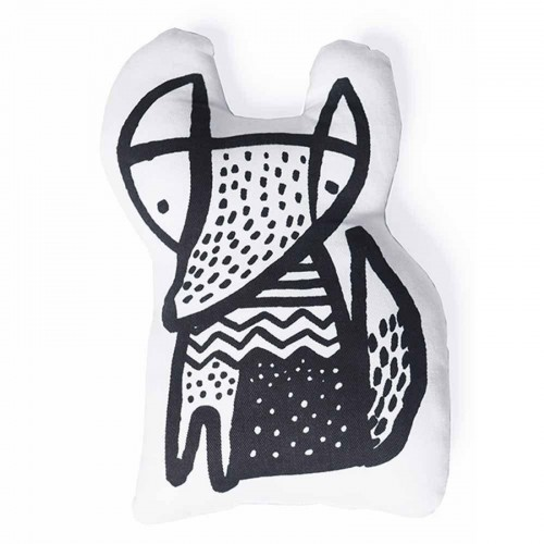Wee Gallery Nursery Friends Organic Throw Pillow FOX