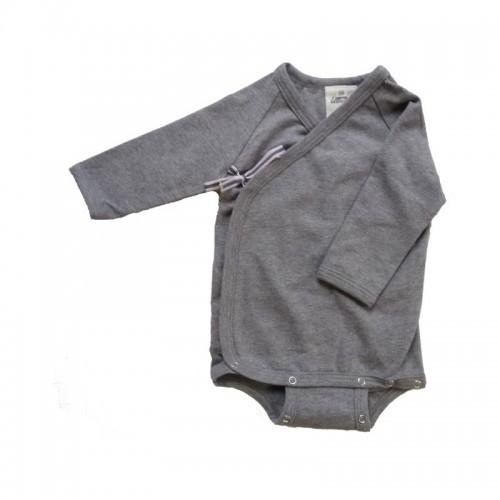 Baby Wickelbody Langarm Bio-Baumwolle Ulalue