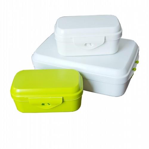 Bento Boxentrio – 3x Lunchbox aus Biokunststoff | Biodora
