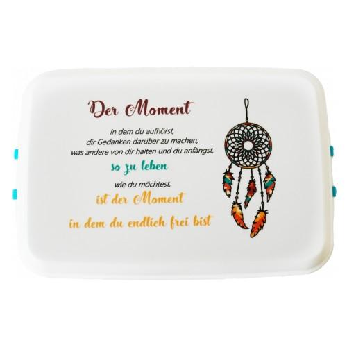 "Biodora bioplastic eco-friendly lunchbox – model ""moment"""