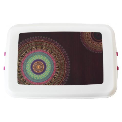 "Bioplastic Lunchbox – Storage Container ""Mandala"" | Biodora"