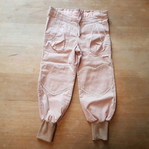 Summer Trousers Dusky Pink Organic Cotton | Ulalue