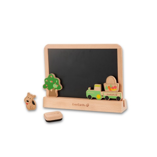 EverEarth Blackboard & Drawing Tablet - eco toy - FSC wood
