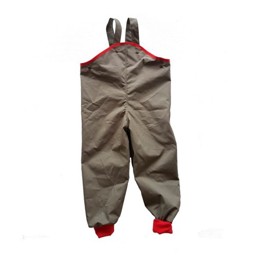 All weather trousers - organic cotton kids mud pants German-made