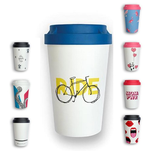 Organic Reusable Takeaway Cup Heybico