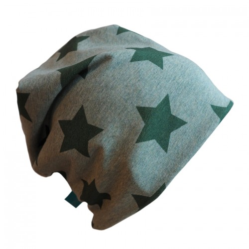 Unisex Hat green mixed Stars - Eco Jersey | bingabonga