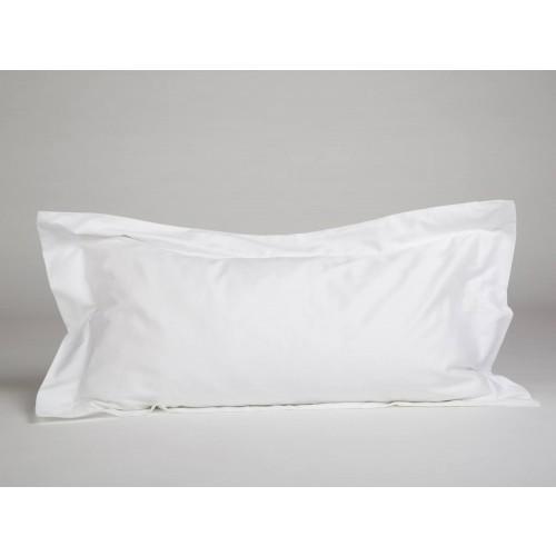 Kissenbezug Baumwollsatin Pure White